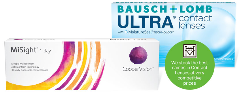 contact lens packs